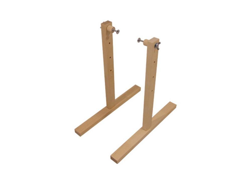 Стойки станка универсального ССУАксессуары для вышивки<br><br><br>Артикул: 1031<br>Размер: Высота: 41 см<br>Вес: 1,5 кг<br>Материал: Берёза