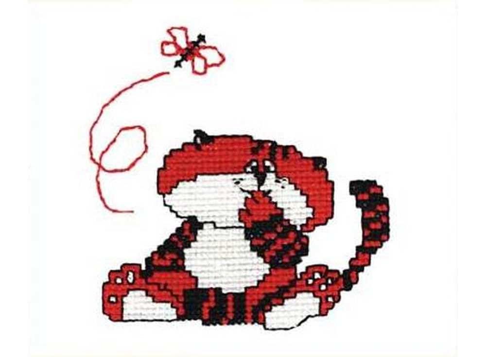 Набор для вышивания «Кот под мухой»Вышивка крестом Овен<br><br><br>Артикул: 111<br>Основа: канва Aida 14<br>Размер: 11х11 см<br>Техника вышивки: счетный крест<br>Тип схемы вышивки: Цветная схема<br>Цвет канвы: Белый<br>Количество цветов: 3<br>Заполнение: Частичное<br>Рисунок на канве: не нанесён<br>Техника: Вышивка крестом