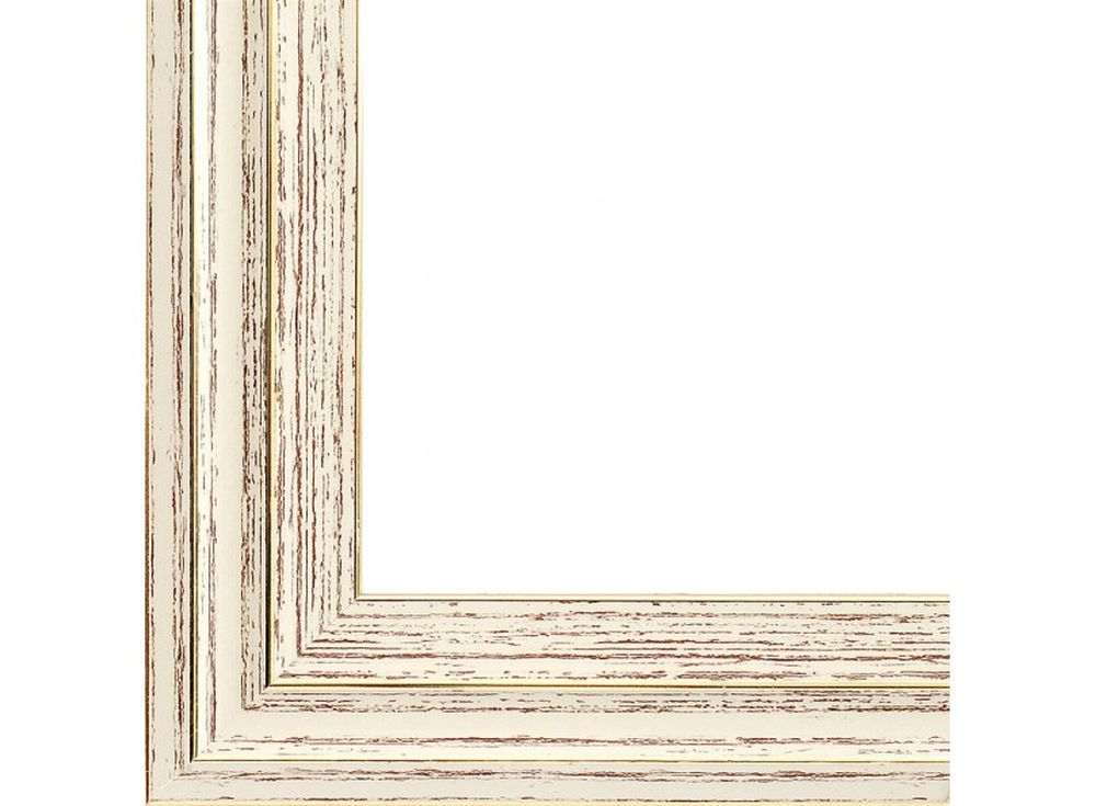 Рамка для картин «Valery»Багетные рамки<br><br><br>Артикул: 2281-BB<br>Размер: 40x50<br>Цвет: Бежевый + золото<br>Ширина: 38<br>Материал багета: Пластик