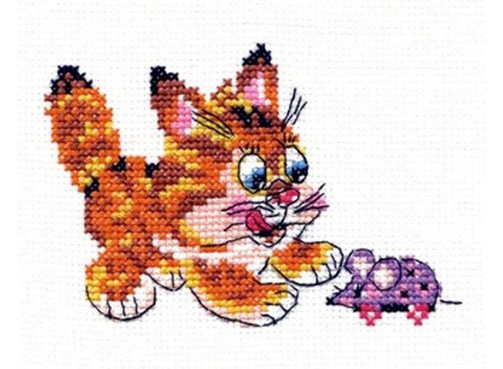 Набор для вышивания «Съем!»Вышивка крестом Чудесная игла<br><br><br>Артикул: 15-10<br>Основа: канва Aida 14 (хлопок)<br>Сложность: легкие<br>Размер: 12х8 см<br>Техника вышивки: счетный крест<br>Тип схемы вышивки: Цветная схема<br>Цвет канвы: Белый<br>Количество цветов: 10<br>Игла: № 24<br>Рисунок на канве: не нанесён<br>Техника: Вышивка крестом<br>Нитки: мулине 100% хлопок Bestex