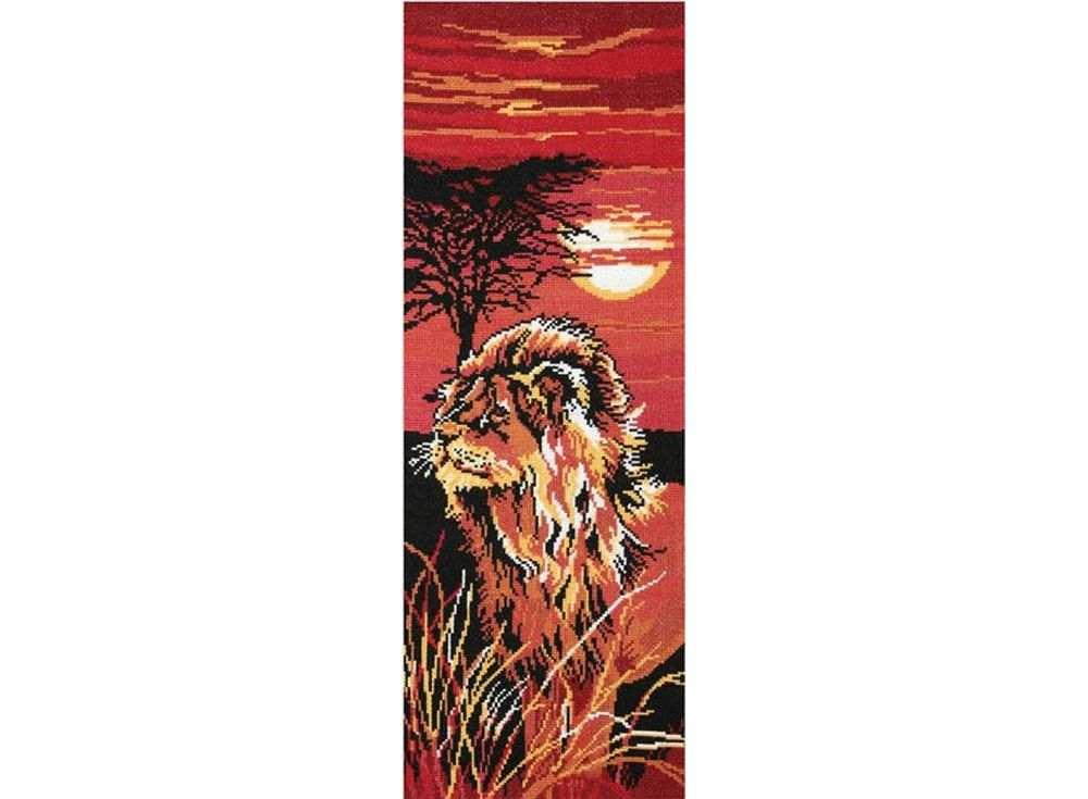 Набор для вышивания «Царь зверей»Вышивка крестом Овен<br><br>