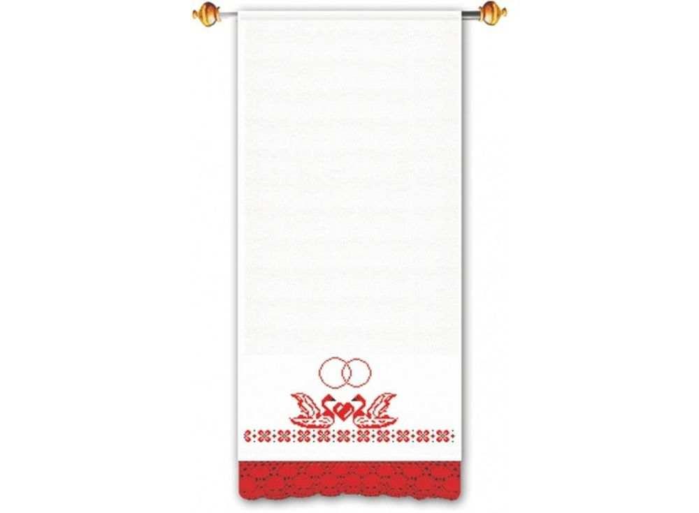 Набор для вышивания «Свадебный»Вышивка крестом Овен<br><br><br>Артикул: 182(П)<br>Основа: рушниковая ткань со вставками канвы по краям белого цвета<br>Размер: 160х40 см<br>Техника вышивки: счетный крест<br>Тип схемы вышивки: Цветная схема<br>Цвет канвы: Белый<br>Количество цветов: 2<br>Заполнение: Частичное<br>Рисунок на канве: не нанесён<br>Техника: Вышивка крестом