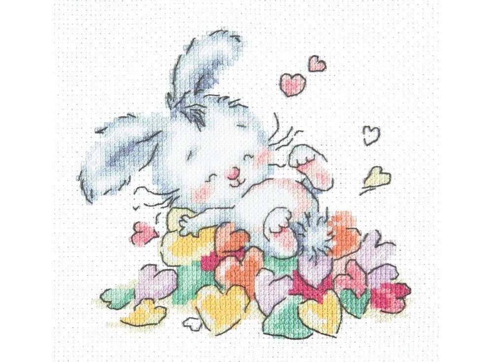 Набор для вышивания «Утопаю в любви»Вышивка крестом Чудесная игла<br><br><br>Артикул: 19-07<br>Основа: канва Aida 14 (хлопок)<br>Сложность: легкие<br>Размер: 13х12 см<br>Техника вышивки: счетный крест<br>Тип схемы вышивки: Цветная схема<br>Цвет канвы: Белый<br>Количество цветов: 17<br>Игла: № 24<br>Рисунок на канве: не нанесён<br>Техника: Вышивка крестом<br>Нитки: мулине 100% хлопок Gamma