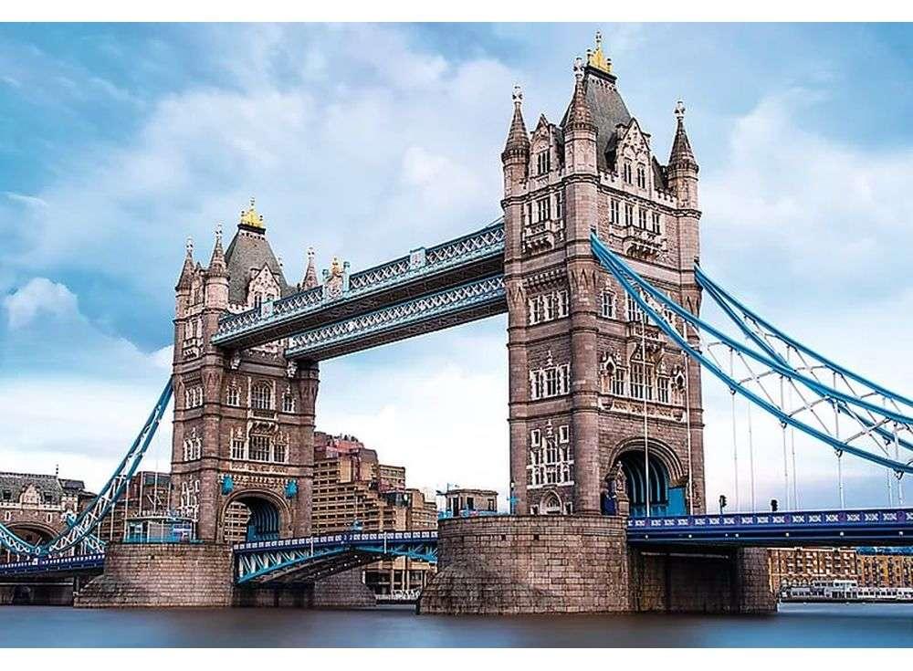 Пазлы «Тауэрский мост через Темзу»Trefl<br><br><br>Артикул: 26140<br>Размер: 85x58 см<br>Возраст: от 12 лет
