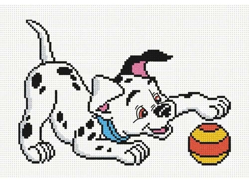 Набор для вышивания «Далматинец с мячом»Вышивка крестом Овен<br><br><br>Артикул: 295<br>Основа: канва Aida 14<br>Размер: 20х14 см<br>Техника вышивки: счетный крест<br>Тип схемы вышивки: Цветная схема<br>Цвет канвы: Белый<br>Количество цветов: 6<br>Заполнение: Частичное<br>Рисунок на канве: не нанесён<br>Техника: Вышивка крестом