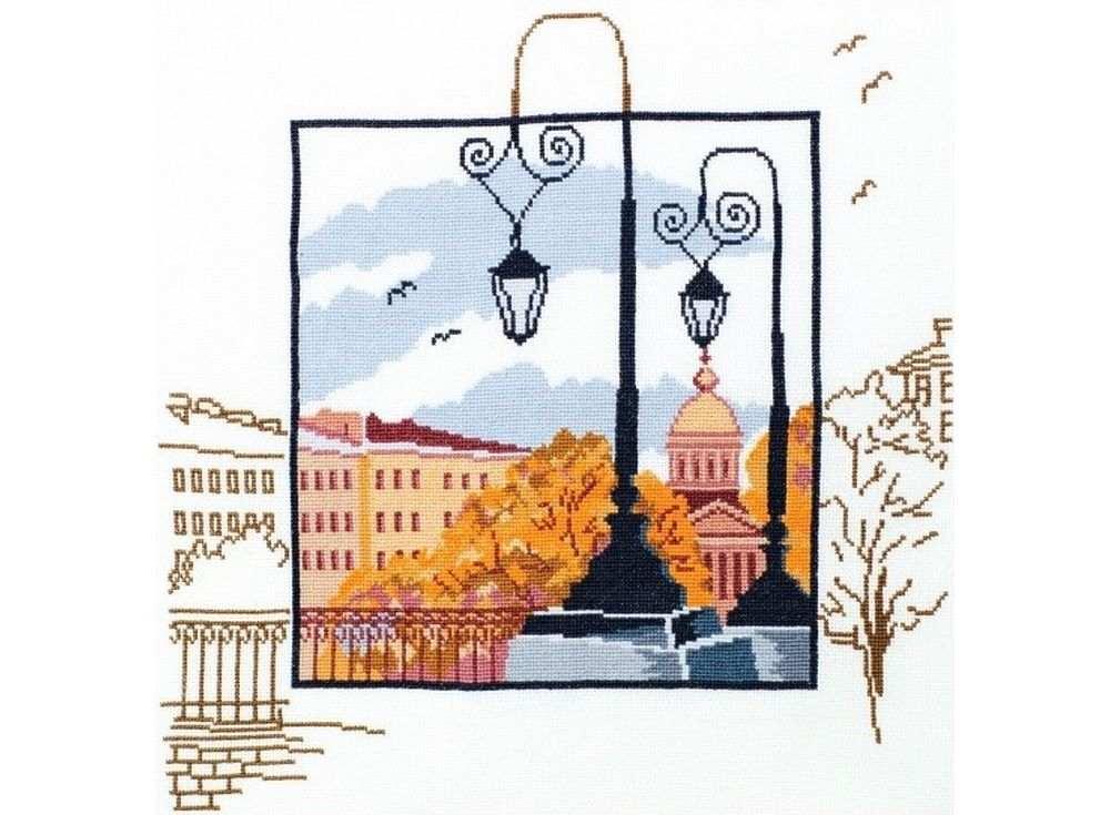 Набор для вышивания «Петербургские зарисовки»Вышивка крестом<br><br>