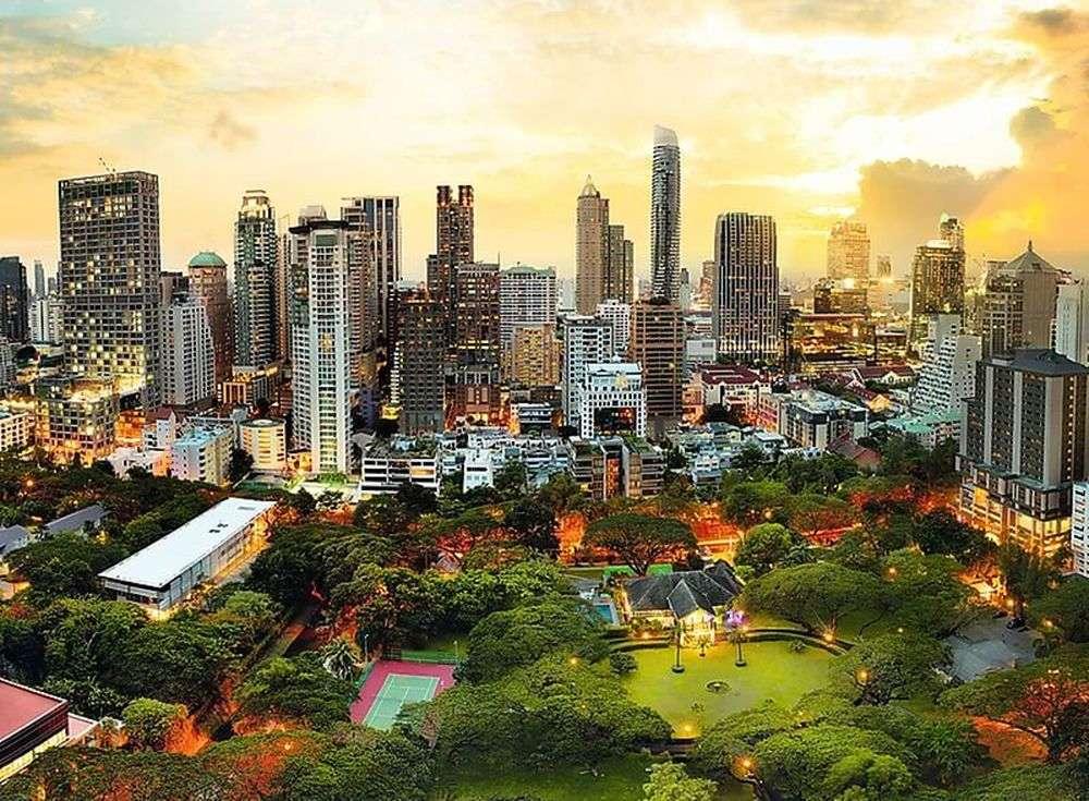 Пазлы «Закат в Бангкоке»Trefl<br><br><br>Артикул: 33060<br>Размер: 116x85 см<br>Возраст: от 14 лет