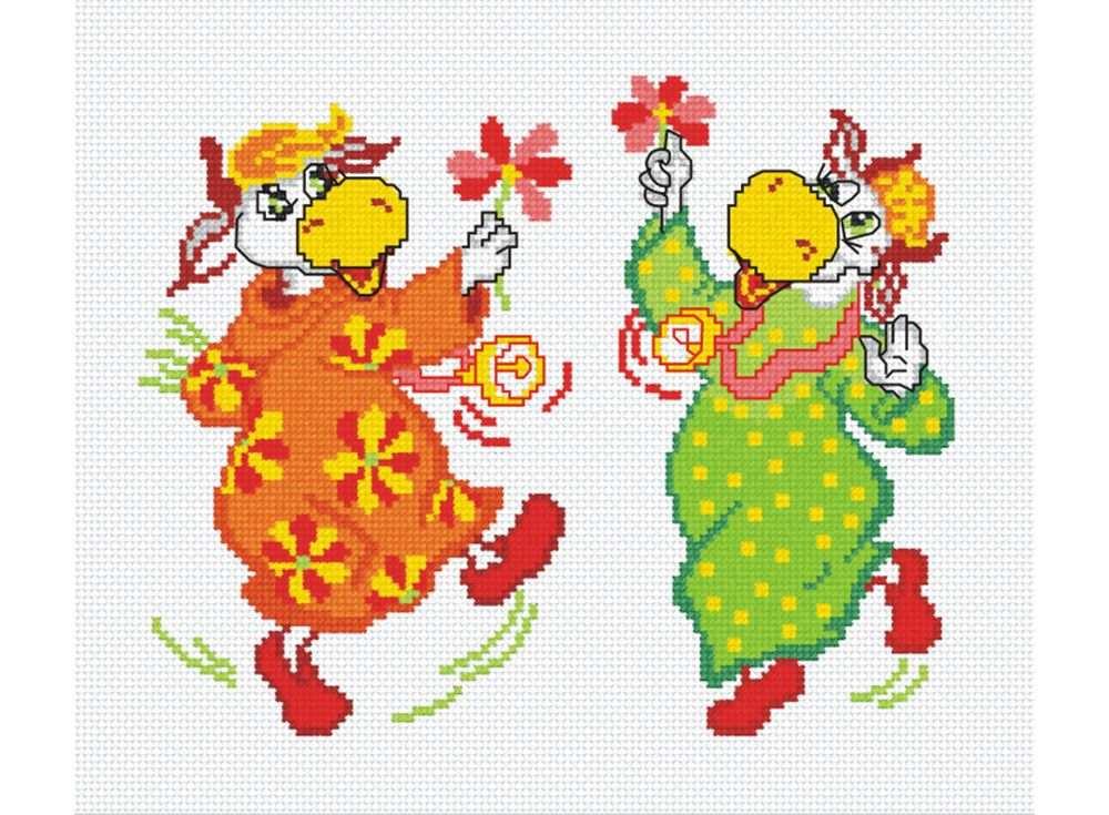 Набор для вышивания «Веселухи»Вышивка крестом Овен<br><br><br>Артикул: 336<br>Основа: канва Aida 14<br>Размер: 26х24 см<br>Техника вышивки: счетный крест<br>Тип схемы вышивки: Цветная схема<br>Цвет канвы: Белый<br>Количество цветов: 11<br>Заполнение: Частичное<br>Рисунок на канве: не нанесён<br>Техника: Вышивка крестом