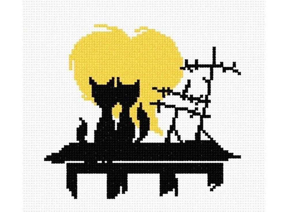Набор для вышивания «Влюбленные коты №2»Вышивка крестом Овен<br><br><br>Артикул: 403<br>Основа: канва Aida 14<br>Размер: 15х13 см<br>Техника вышивки: счетный крест<br>Тип схемы вышивки: Цветная схема<br>Цвет канвы: Белый<br>Количество цветов: 2<br>Заполнение: Частичное<br>Рисунок на канве: не нанесён<br>Техника: Вышивка крестом