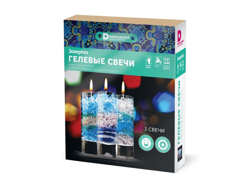 Гелевые свечи «Домашний. Ночь»Гелевые свечи<br><br><br>Артикул: 404109<br>Возраст: от 8 лет