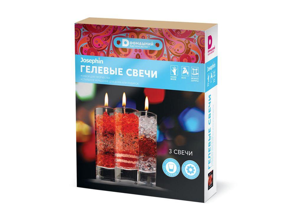 Гелевые свечи «Домашний. Калейдоскоп»Гелевые свечи<br><br><br>Артикул: 404110<br>Возраст: от 8 лет