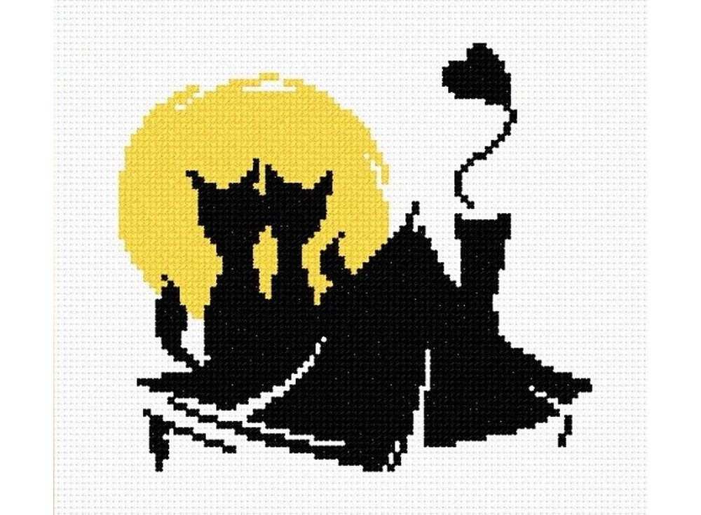 Набор для вышивания «Влюбленные коты №4»Вышивка крестом Овен<br><br><br>Артикул: 405<br>Основа: канва Aida 14<br>Размер: 15x13 см<br>Техника вышивки: счетный крест<br>Тип схемы вышивки: Цветная схема<br>Цвет канвы: Белый<br>Количество цветов: 2<br>Заполнение: Частичное<br>Рисунок на канве: не нанесён<br>Техника: Вышивка крестом