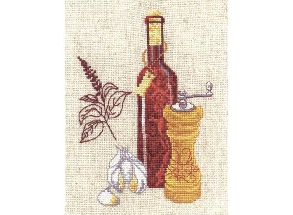 Набор для вышивания «Кухонная миниатюра №1»Вышивка крестом Овен<br><br>