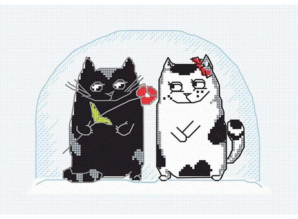 Набор для вышивания «Коты на окне»Вышивка крестом Овен<br><br><br>Артикул: 612<br>Основа: канва Aida 14<br>Размер: 20х15 см<br>Техника вышивки: счетный крест<br>Тип схемы вышивки: Цветная схема<br>Цвет канвы: Белый<br>Количество цветов: 6<br>Заполнение: Частичное<br>Рисунок на канве: не нанесён<br>Техника: Вышивка крестом