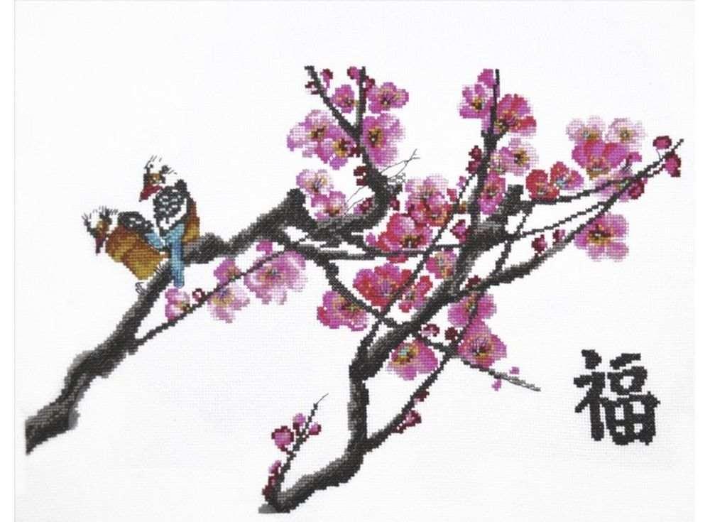 Набор для вышивания «Ветка сакуры»