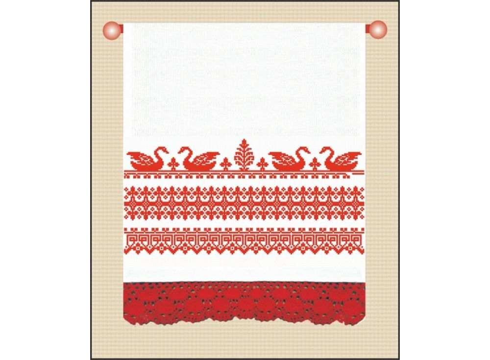 Набор для вышивания «На счастье»Вышивка крестом Овен<br><br><br>Артикул: 676(п)<br>Основа: рушниковая ткань со вставками канвы по краям белого цвета<br>Размер: 160х40 см<br>Техника вышивки: счетный крест<br>Тип схемы вышивки: Цветная схема<br>Цвет канвы: Белый<br>Количество цветов: 1<br>Заполнение: Частичное<br>Рисунок на канве: не нанесён<br>Техника: Вышивка крестом