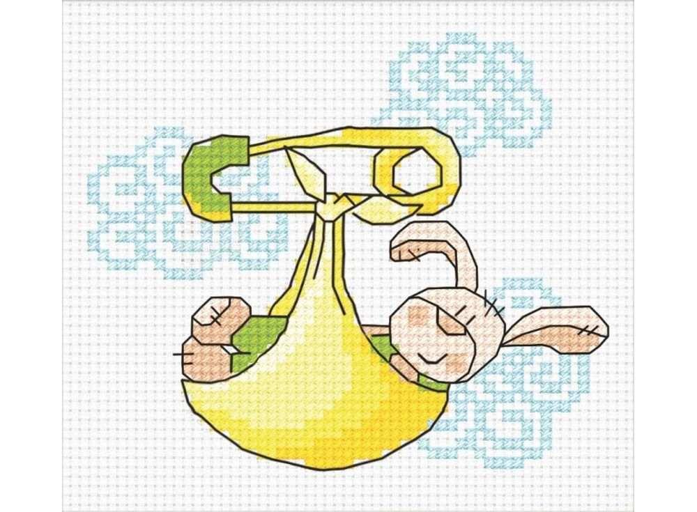 Набор для вышивания «Небесное послание»Вышивка крестом Овен<br><br><br>Артикул: 709<br>Основа: канва Aida 14<br>Размер: 10х8 см<br>Техника вышивки: счетный крест<br>Тип схемы вышивки: Цветная схема<br>Цвет канвы: Белый<br>Количество цветов: 7<br>Заполнение: Частичное<br>Рисунок на канве: не нанесён<br>Техника: Вышивка крестом