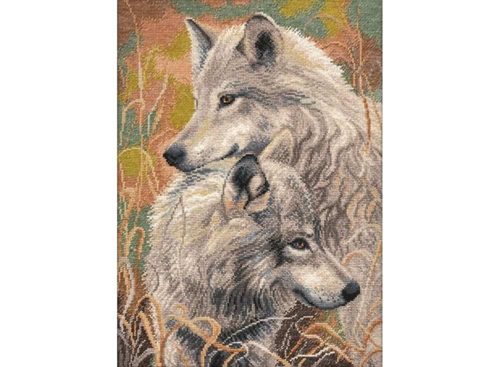 Набор для вышивания «Волчья верность»Вышивка крестом Овен<br><br>