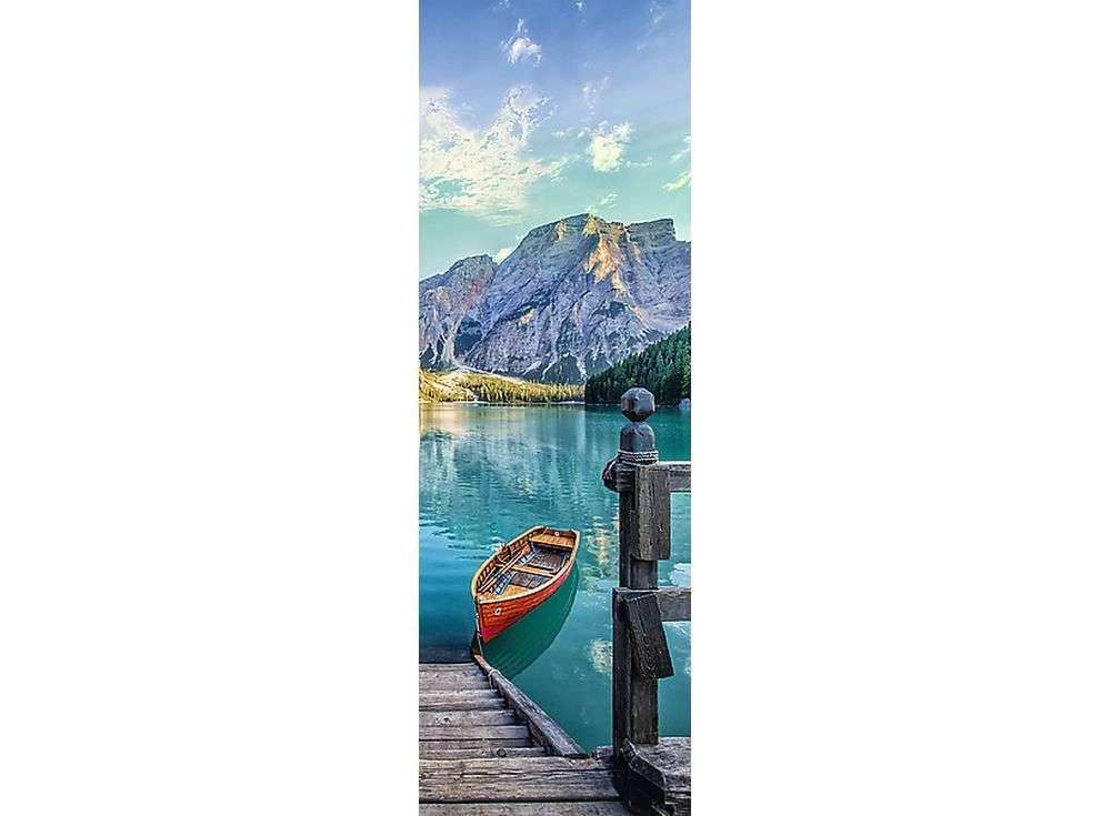 Пазлы «Горное озеро»Trefl<br><br><br>Артикул: 75003<br>Размер: 16x48 см<br>Возраст: от 14 лет
