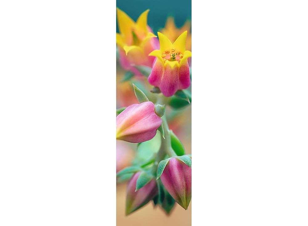 Пазлы «Расцветающие цветы»Trefl<br><br><br>Артикул: 75005<br>Размер: 16x48 см<br>Возраст: от 14 лет