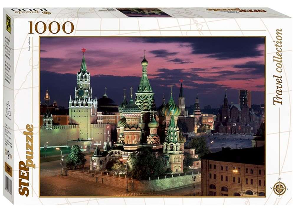Пазлы «Красна площадь. Москва»Пазлы от производител Step Puzzle<br><br><br>Артикул: 79075<br>Размер: 48x68 см<br>Размер упаковки: 40x27x5,5 см<br>Возраст: от 7 лет