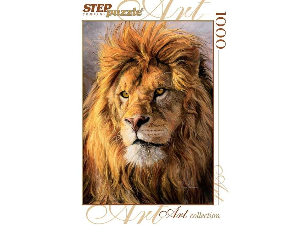 Пазлы «Царь зверей»Пазлы от производителя Step Puzzle<br><br><br>Артикул: 79101<br>Размер: 68x48 см<br>Размер упаковки: 40x27x5,5 см<br>Возраст: от 7 лет