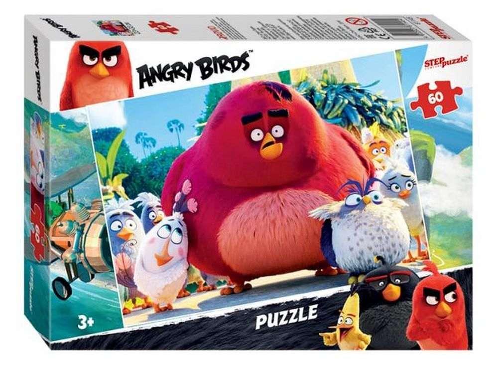 Пазлы «Angry Birds»Пазлы от производителя Step Puzzle<br><br><br>Артикул: 81145<br>Размер: 33x23 см<br>Размер упаковки: 19,5x13,7x3,5 см<br>Возраст: от 3 лет