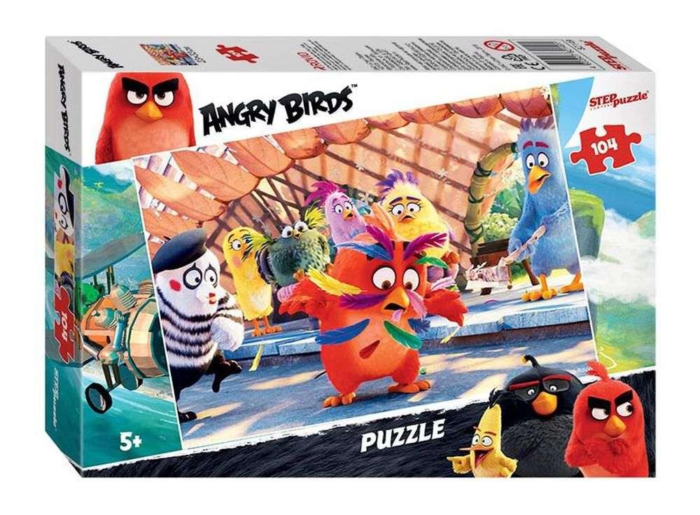 Пазлы «Angry Birds»Пазлы от производителя Step Puzzle<br><br><br>Артикул: 82149<br>Размер: 33x23 см<br>Размер упаковки: 19,5x13,7x3,5 см<br>Возраст: от 5 лет