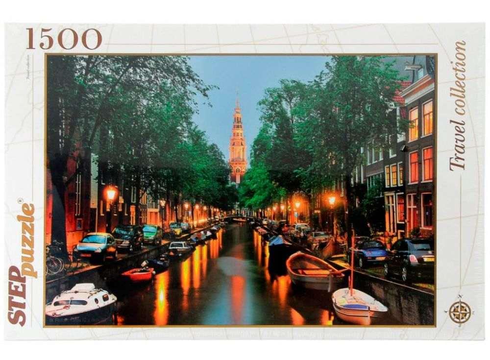 Пазлы «Амстердам»Пазлы от производителя Step Puzzle<br><br><br>Артикул: 83049<br>Размер: 85x58 см<br>Размер упаковки: 40х27х5,5 см<br>Возраст: от 8 лет