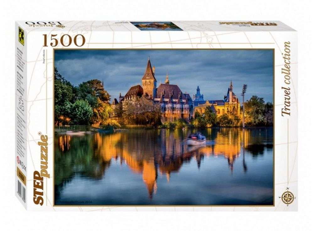 Пазлы «Замок у озера»Пазлы от производителя Step Puzzle<br><br><br>Артикул: 83050<br>Размер: 85x58 см<br>Размер упаковки: 40х27х5,5 см<br>Возраст: от 8 лет