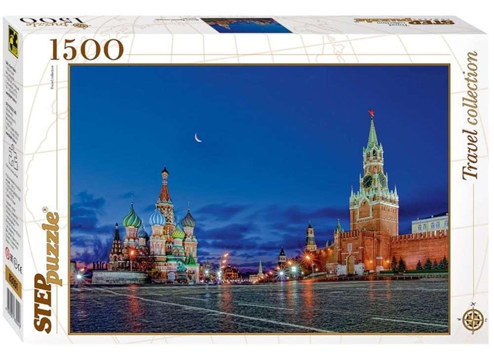 Пазлы «Москва. Красная площадь»Пазлы от производителя Step Puzzle<br><br><br>Артикул: 83051<br>Размер: 85x58 см<br>Размер упаковки: 40х27х5,5 см<br>Возраст: от 8 лет