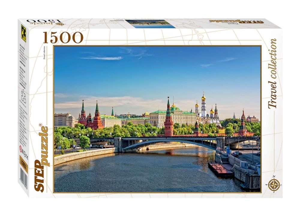 Пазлы «Москва. Кремль»Пазлы от производителя Step Puzzle<br><br><br>Артикул: 83052<br>Размер: 85x58 см<br>Размер упаковки: 40х27х5,5 см<br>Возраст: от 8 лет