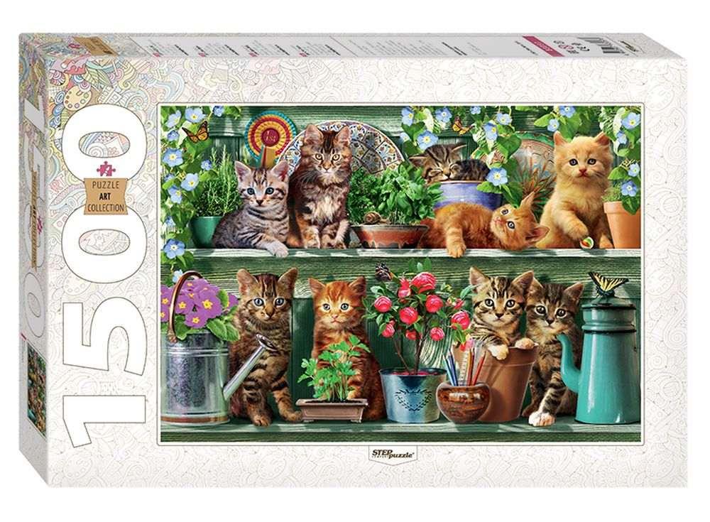 Пазлы «Котята»Пазлы от производителя Step Puzzle<br><br><br>Артикул: 83057<br>Размер: 85x58 см<br>Размер упаковки: 40х27х5,5 см<br>Возраст: от 8 лет