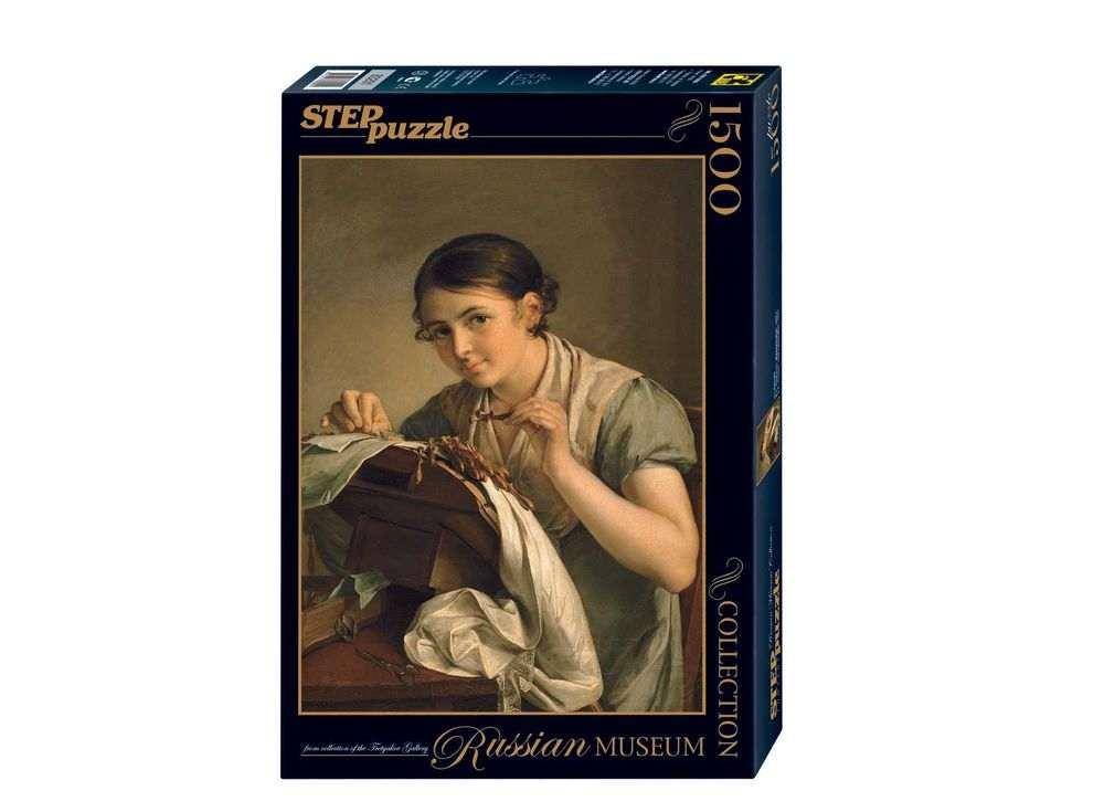 Пазлы «Кружевница»Пазлы от производителя Step Puzzle<br><br><br>Артикул: 83201<br>Размер: 85x58 см<br>Размер упаковки: 40х27х5,5 см<br>Возраст: от 8 лет