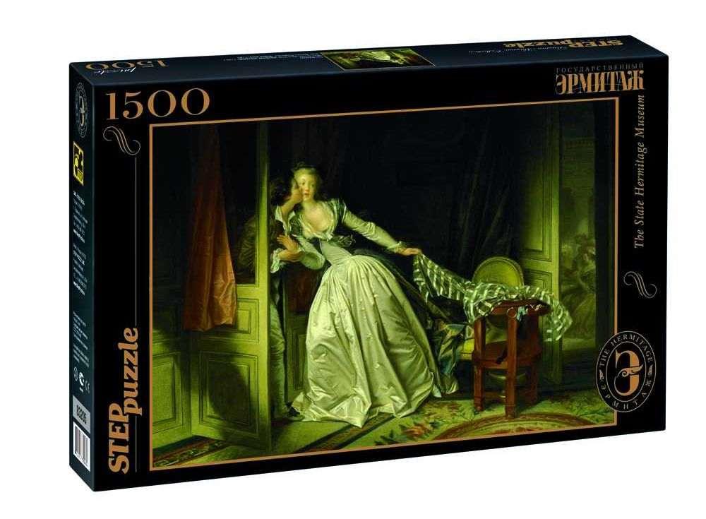 Пазлы «Поцелуй украдкой»Пазлы от производителя Step Puzzle<br><br><br>Артикул: 83205<br>Размер: 85x58 см<br>Размер упаковки: 40х27х5,5 см<br>Возраст: от 8 лет