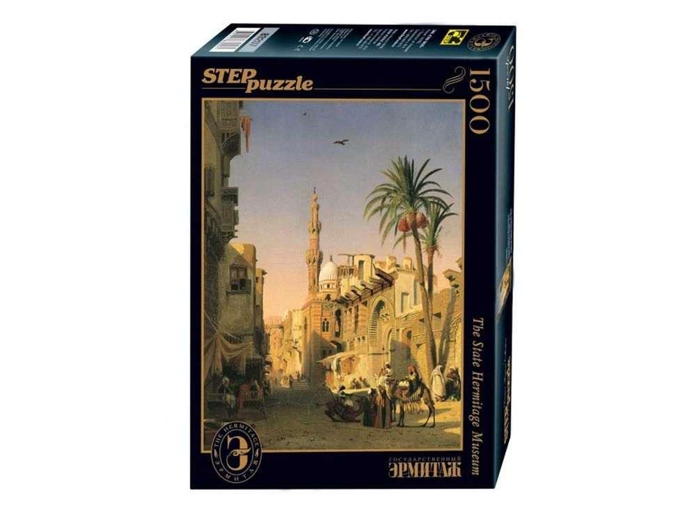 Пазлы «Улица Эзбикия в Каире»Пазлы от производителя Step Puzzle<br><br><br>Артикул: 83207<br>Размер: 85x58 см<br>Размер упаковки: 40х27х5,5 см<br>Возраст: от 8 лет