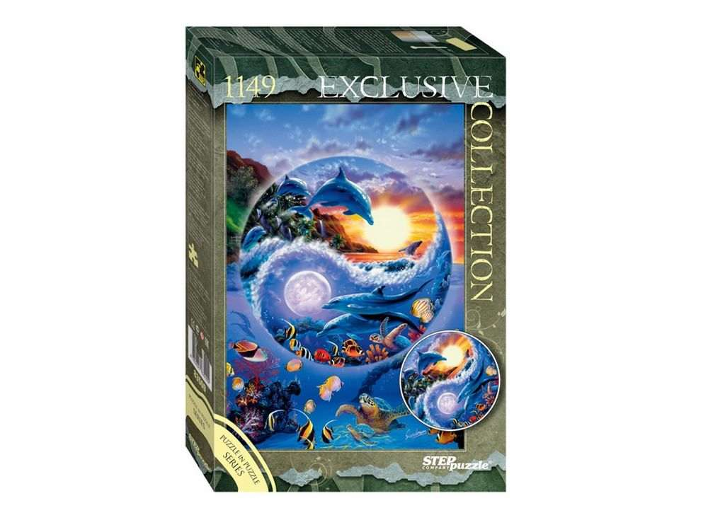 Пазлы «Подводный мир» (пазл в пазле)Пазлы от производителя Step Puzzle<br><br><br>Артикул: 83509<br>Размер: 85x57 см<br>Размер упаковки: 40х27х5,5 см<br>Возраст: от 7 лет