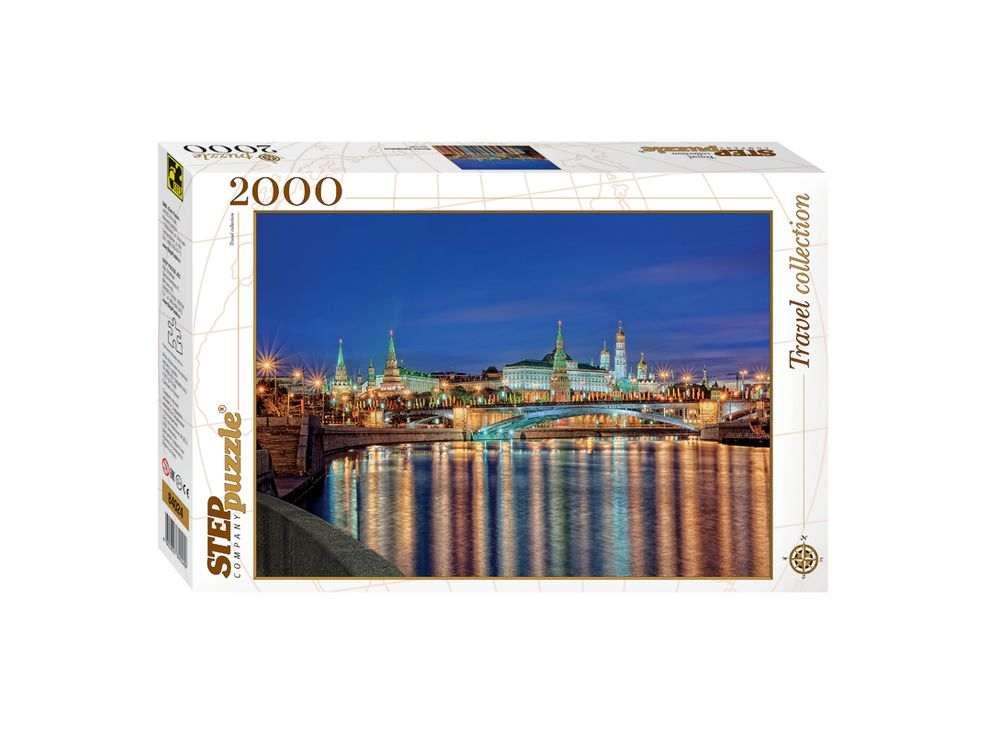 Пазлы «Москва. Набережная»Пазлы от производителя Step Puzzle<br><br><br>Артикул: 84024<br>Размер: 68x96 см<br>Размер упаковки: 40х27х5,5 см<br>Возраст: от 8 лет