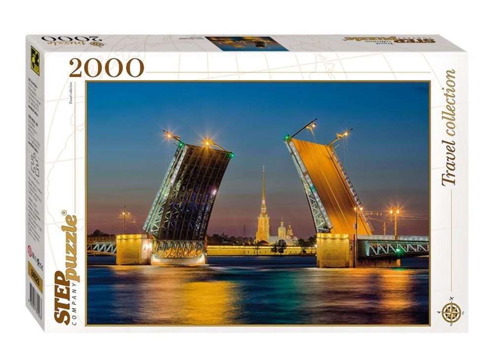 Пазлы «Санкт-Петербург»Пазлы от производителя Step Puzzle<br><br><br>Артикул: 84026<br>Размер: 68x96 см<br>Размер упаковки: 40х27х5,5 см<br>Возраст: от 8 лет