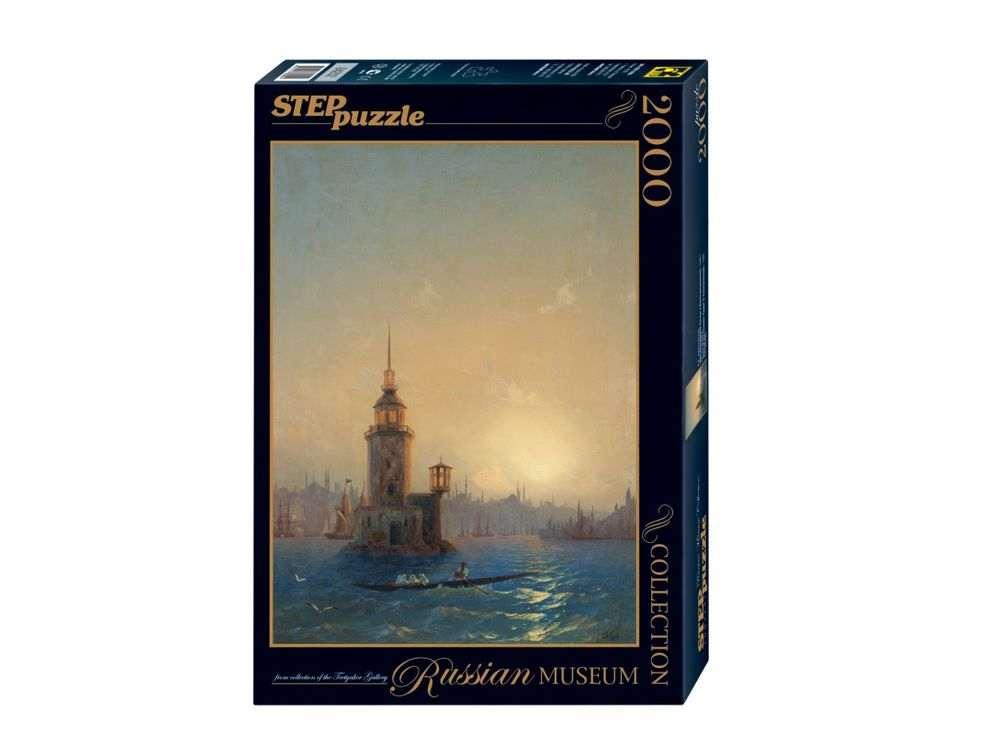 Пазлы «Вид Леандровой Башни в Константинополе»Пазлы от производителя Step Puzzle<br><br><br>Артикул: 84202<br>Размер: 68x96 см<br>Размер упаковки: 40х27х5,5 см<br>Возраст: от 8 лет