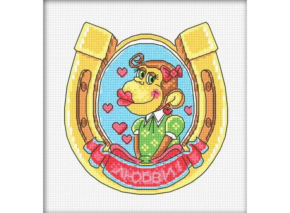 Набор для вышивания «Удачи в любви»Вышивка крестом Овен<br><br><br>Артикул: 848<br>Основа: канва Aida 14<br>Размер: 13х14 см<br>Техника вышивки: счетный крест<br>Тип схемы вышивки: Цветная схема<br>Цвет канвы: Белый<br>Количество цветов: 11<br>Заполнение: Частичное<br>Рисунок на канве: не нанесён<br>Техника: Вышивка крестом