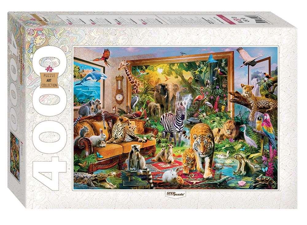Пазлы «Ожившая сказка»Пазлы от производителя Step Puzzle<br><br><br>Артикул: 85406<br>Размер: 136x96 cм<br>Размер упаковки: 40x27x8,5 см<br>Возраст: от 10 лет