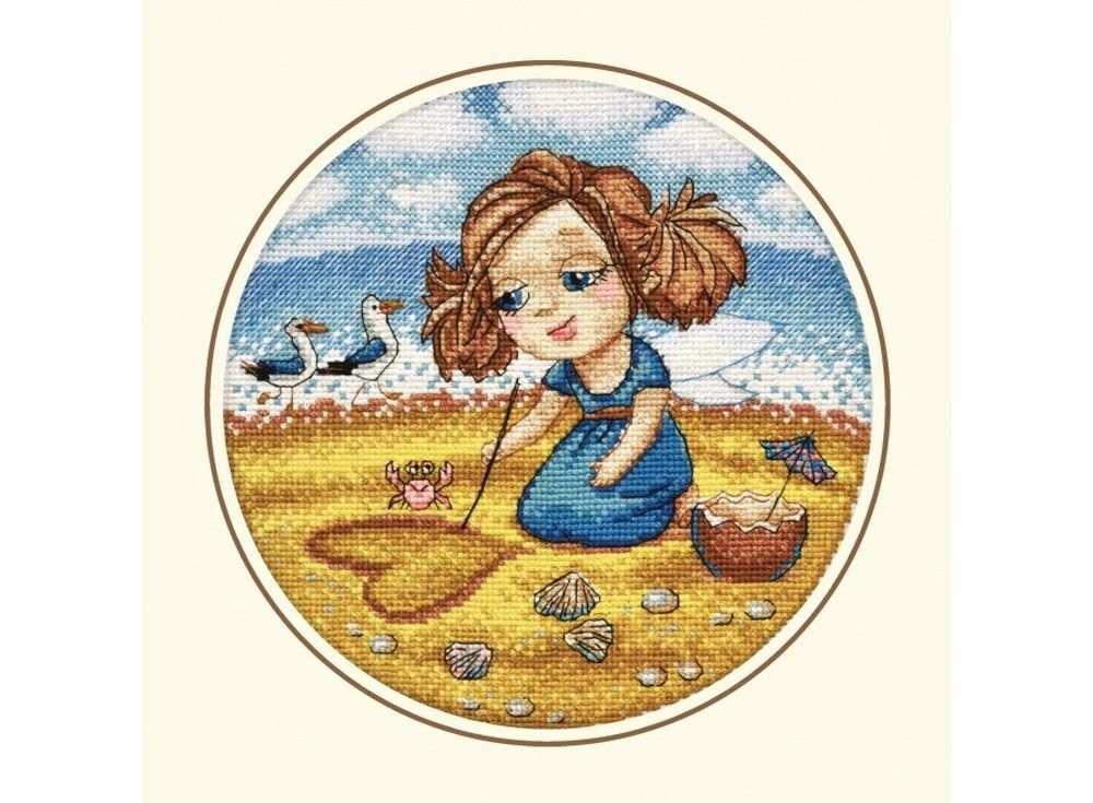 Набор для вышивания «Алиса на море»Вышивка крестом Овен<br><br><br>Артикул: 872<br>Основа: канва Aida 14<br>Размер: 20х20 см<br>Техника вышивки: счетный крест<br>Тип схемы вышивки: Цветная схема<br>Цвет канвы: Белый<br>Количество цветов: 17<br>Заполнение: Частичное<br>Рисунок на канве: не нанесён<br>Техника: Вышивка крестом