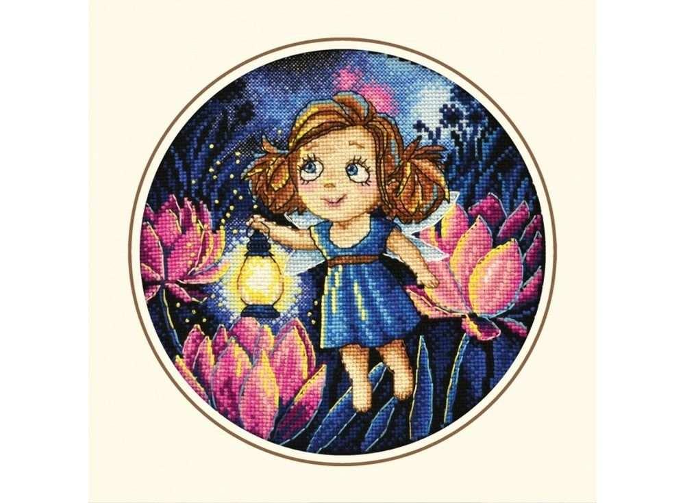 Набор для вышивания «Алиса и светлячки»Вышивка крестом Овен<br><br>