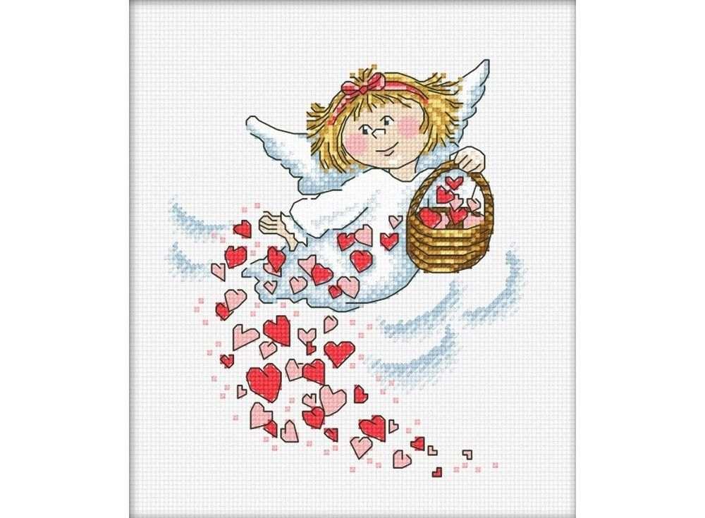Набор для вышивания «Дарю любовь»Вышивка крестом Овен<br><br><br>Артикул: 876<br>Основа: канва Aida 14<br>Размер: 16х18 см<br>Техника вышивки: счетный крест<br>Тип схемы вышивки: Цветная схема<br>Цвет канвы: Белый<br>Количество цветов: 10<br>Заполнение: Частичное<br>Рисунок на канве: не нанесён<br>Техника: Вышивка крестом