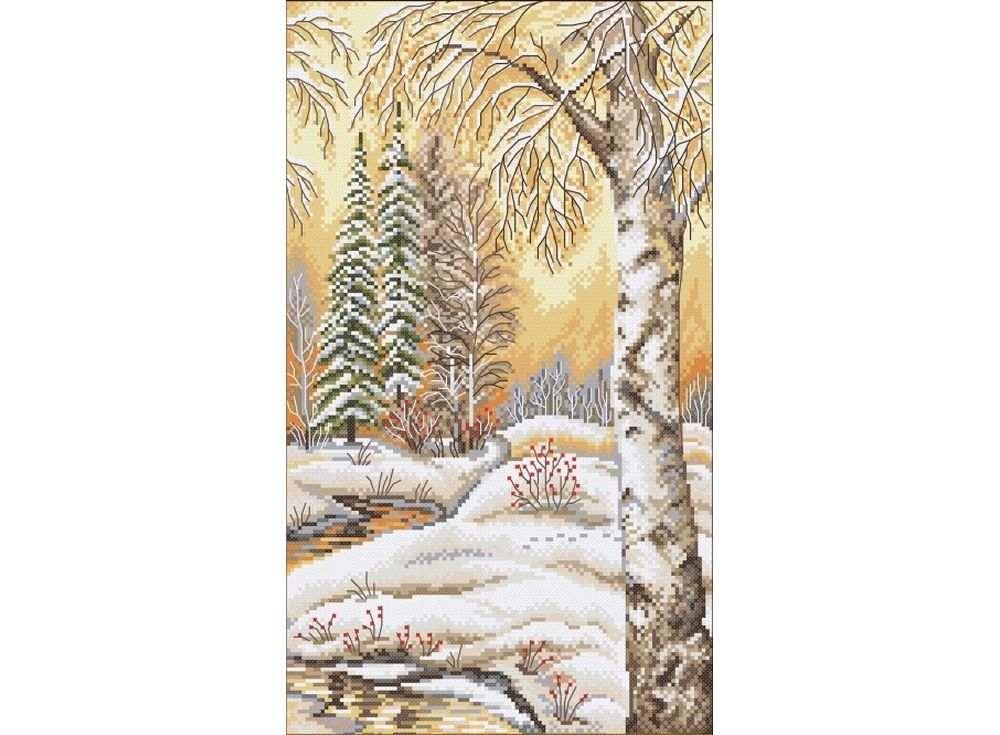 Набор для вышивания «Русская зима - 2»