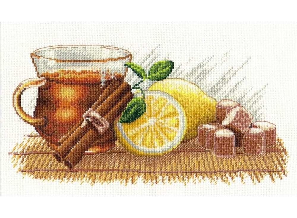 Набор для вышивания «Зимний чай»Вышивка крестом Овен<br><br><br>Артикул: 900<br>Основа: канва Aida 14<br>Размер: 30х15 см<br>Техника вышивки: счетный крест<br>Тип схемы вышивки: Цветная схема<br>Цвет канвы: Белый<br>Количество цветов: 24<br>Заполнение: Частичное<br>Рисунок на канве: не нанесён<br>Техника: Вышивка крестом