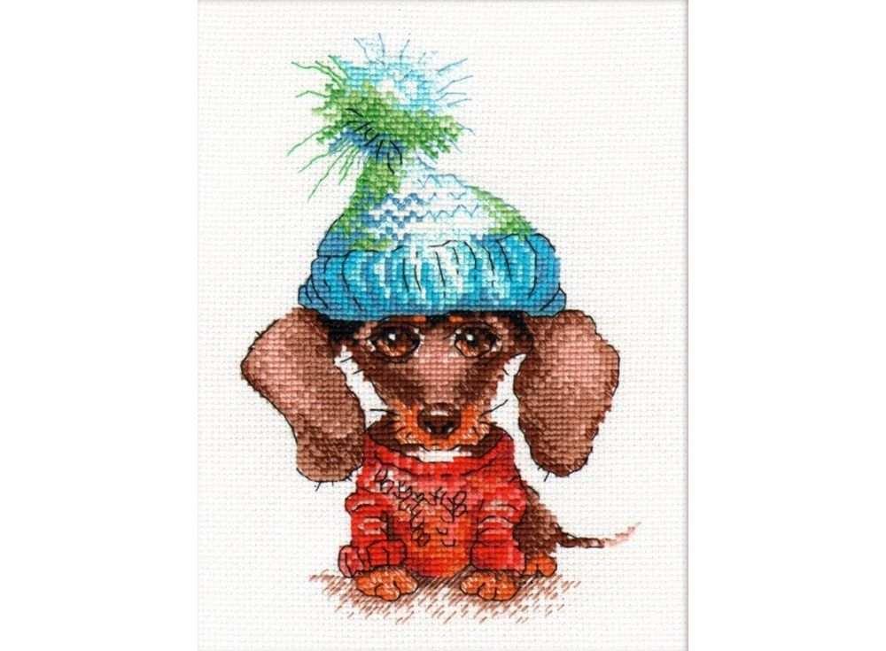 Набор для вышивания «Грустная собака»Вышивка крестом Овен<br><br><br>Артикул: 902<br>Основа: канва Aida 14<br>Размер: 13x19 см<br>Техника вышивки: счетный крест<br>Тип схемы вышивки: Цветная схема<br>Цвет канвы: Белый<br>Количество цветов: 14<br>Заполнение: Частичное<br>Рисунок на канве: не нанесён<br>Техника: Вышивка крестом