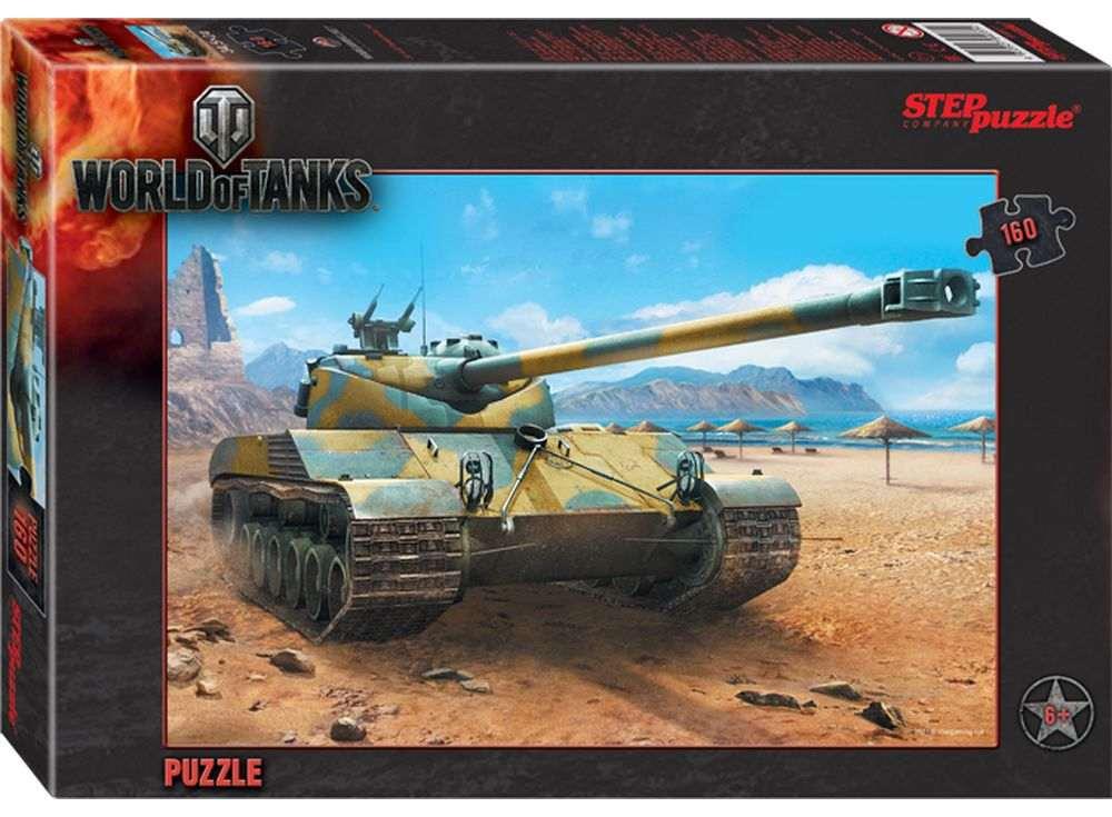 Пазлы «World of Tanks»Пазлы от производителя Step Puzzle<br><br><br>Артикул: 94031<br>Размер: 34,5x24 см<br>Размер упаковки: 28x19,5x4 см<br>Возраст: от 5 лет