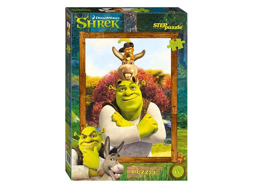 Пазлы «Shrek»Пазлы от производителя Step Puzzle<br><br><br>Артикул: 94042<br>Размер: 34,5x24 см<br>Размер упаковки: 28x19,5x4 см<br>Возраст: от 5 лет